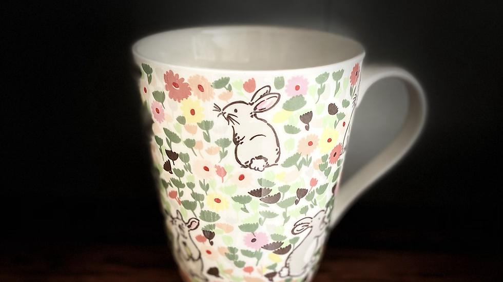Meadow Bunnies Mug by Cath Kidston