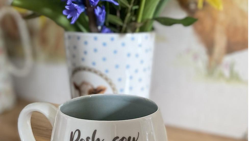 Posh Cow Mug