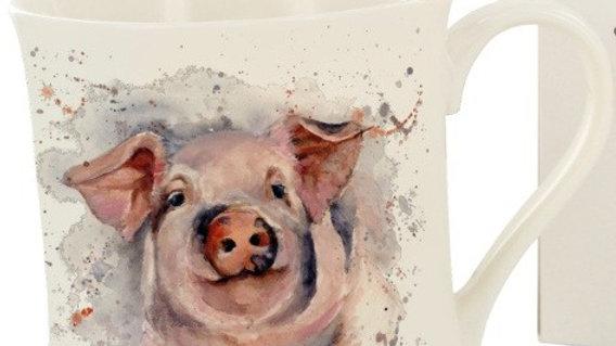 'Patrick' Pig Mug