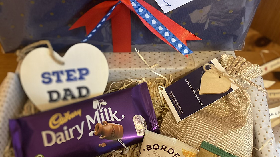 'Step Dad' Fathers Day Gift Hamper