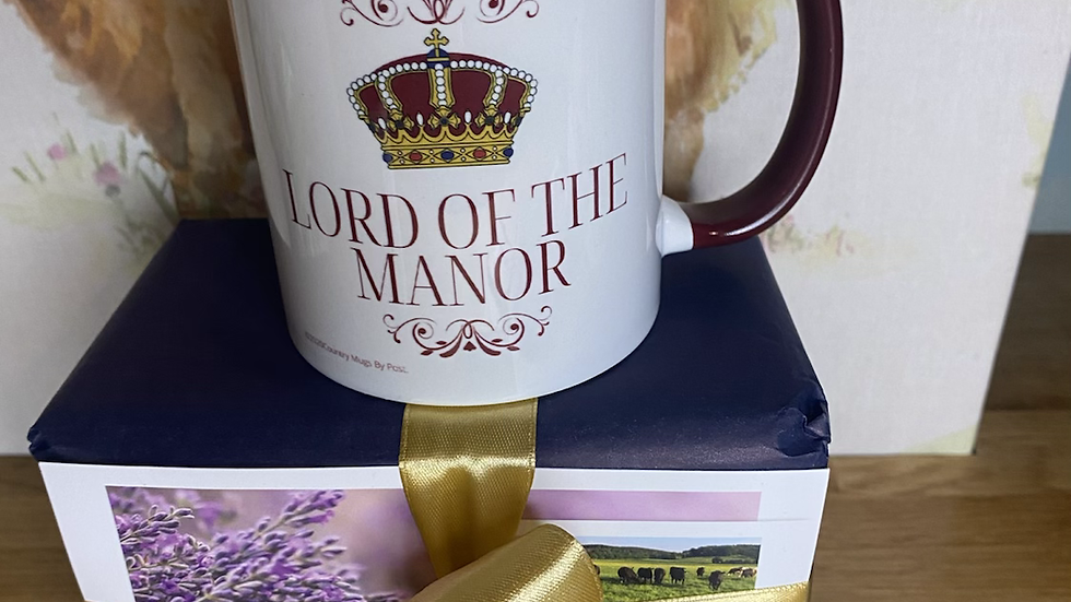 NEW ...'Lord of the Manor'  Mug
