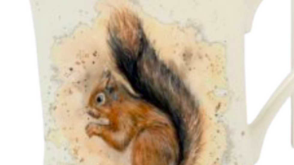 Rustic Squirrel Mug