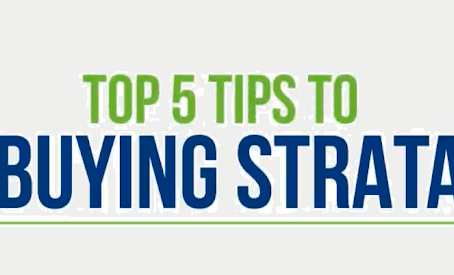 5 Tips to Buying Strata