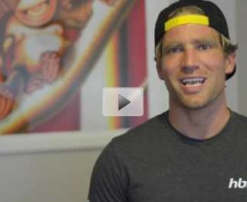 We Ask Paralympian Brant Garvey 3 Burning Questions!