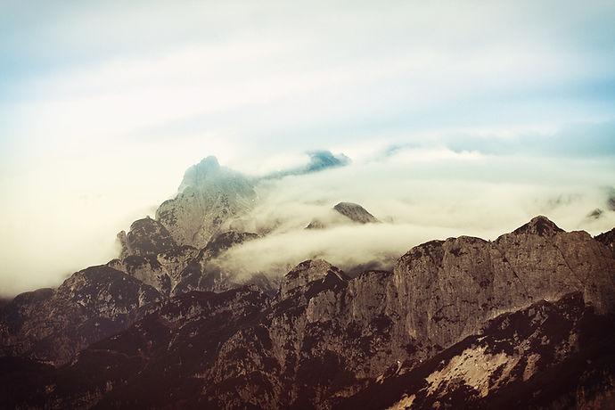 montagne Brouillard