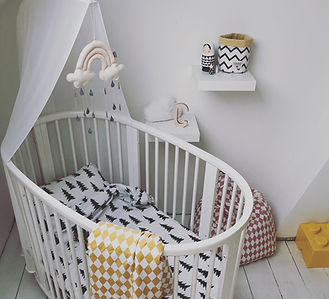 kinderkamer babykamer inrichting inrichten interieurarchitectuur interierarchitect nursery scandinavian interior scandi design living wonen mooi origineel hip