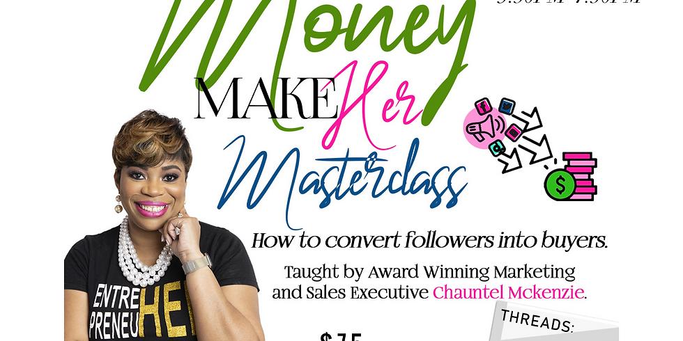 Social Media Money Maker Masterclass 2021