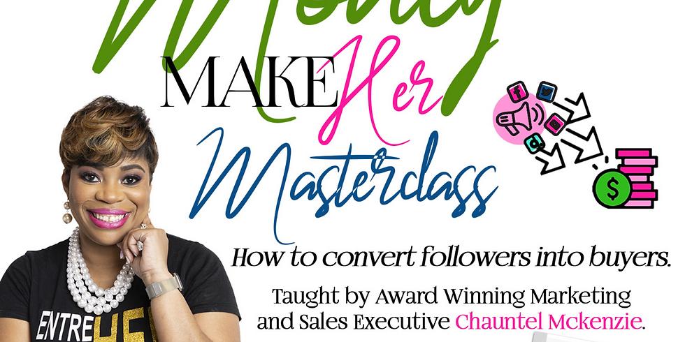 Social Media Money Maker Masterclass