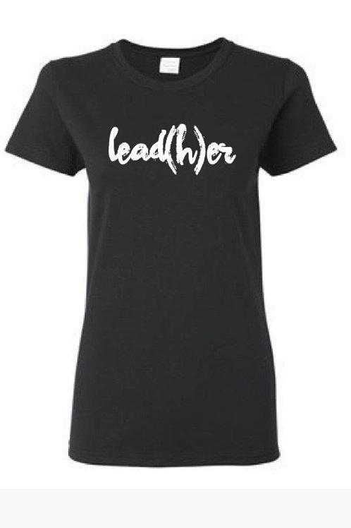 Black LeadHER Tee