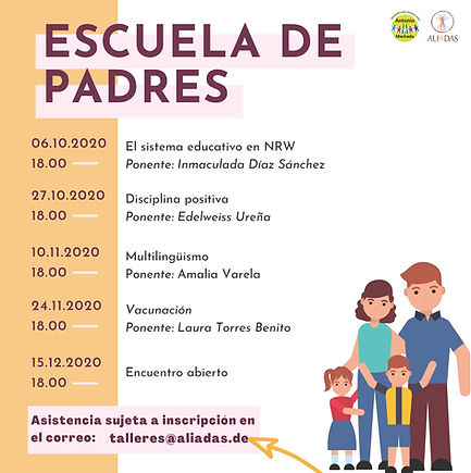 Flyer por taller - Escuela Padres[14694]