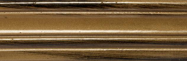 """039 - Metalizzati invecchiati - Bollo Nero con Oro/Black""""Bollo"""" with Gold Patina/Noir et Or"""
