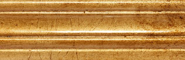 061 - Foglie - Foglia oro invecchiata con giudaica/Aged gold leaf vith giudaica Patina/Feuille d'or