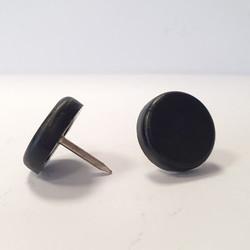 Piedini in plastica nera