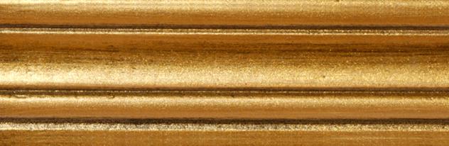 034 - Metalizzati invecchiati - Oro con nero/Gold with Black Patina/Or et Noir