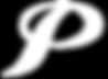 White P logo