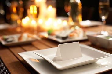 Candlelit Table