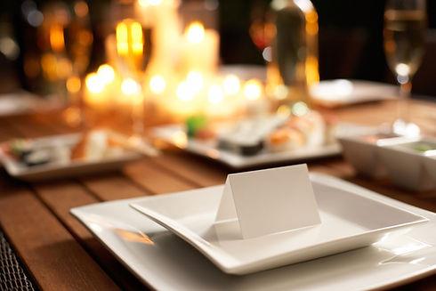 velas mesa