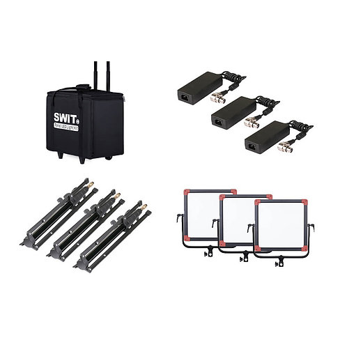 SWIT PL-E60D 3KIT 3xPL-E60D + Case and stands