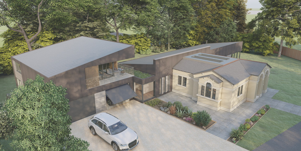 Full renovation and large extension, Tha