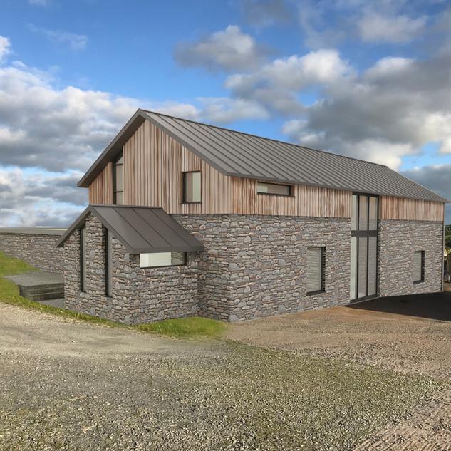 Proposed 'fall-back' dwelling