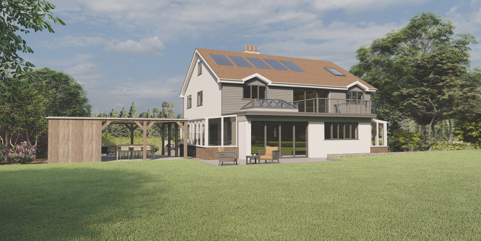 Extension and alterations, Ogwell