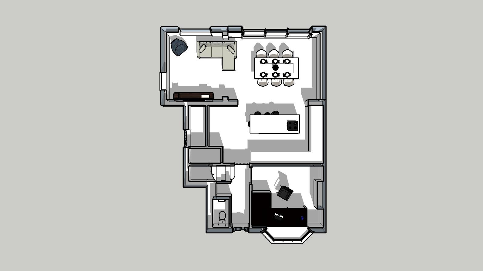 Single storey extensionpg