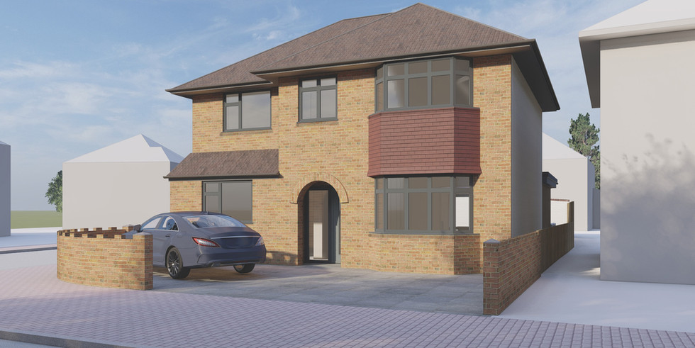 Extension and alterations to existing dwelling