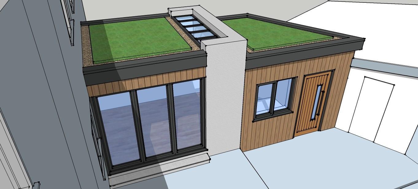 Single storey rear extension