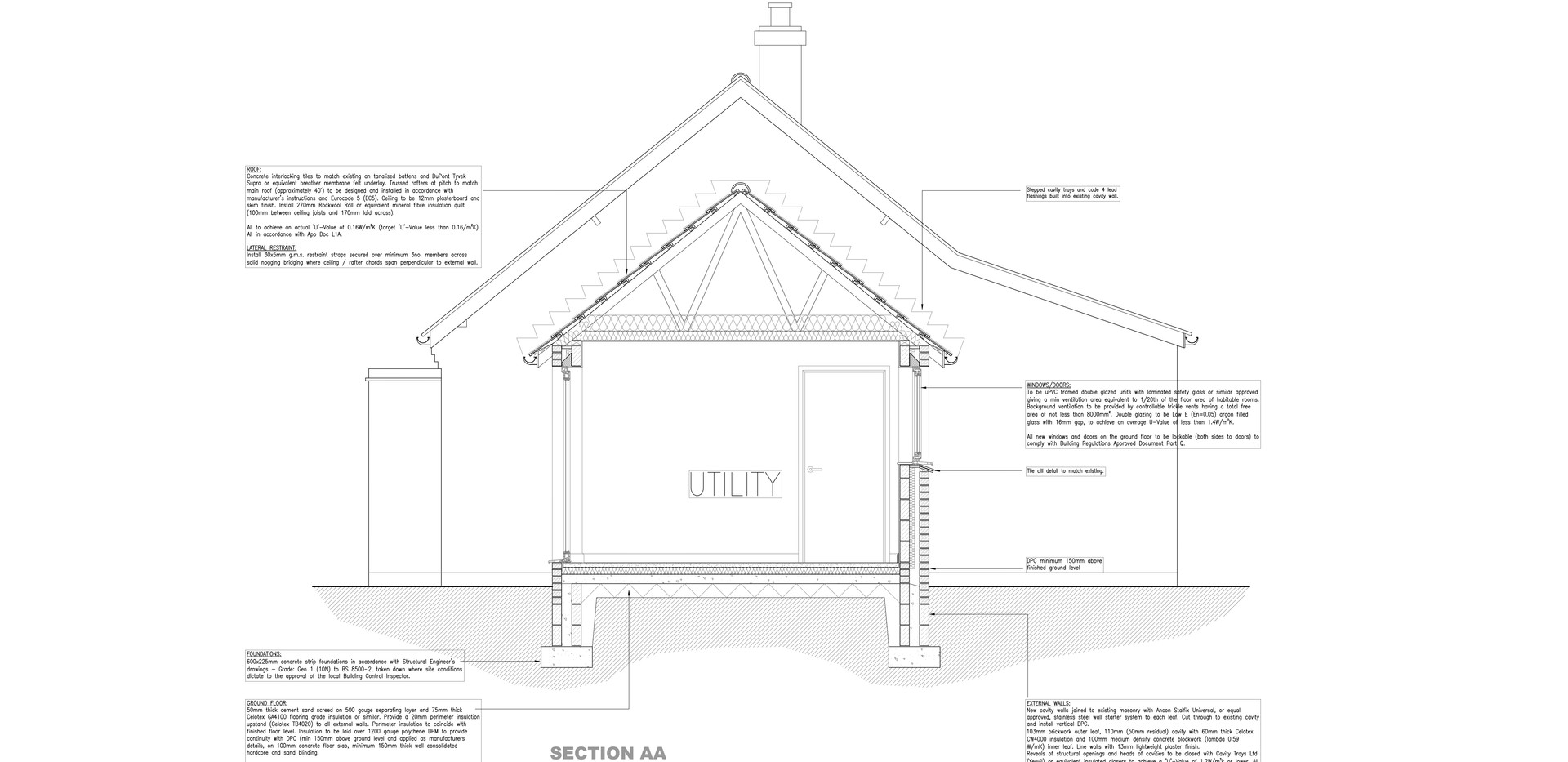 Utility room extension