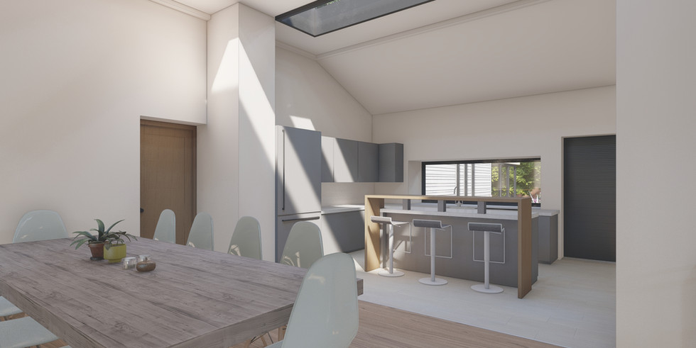 Full renovation and large extension, Thatcham
