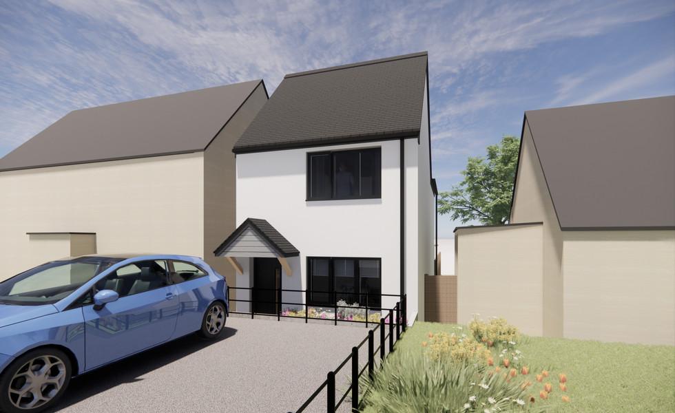 New dwelling, Bradninch