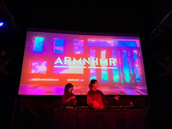 ARMNHMR at the foundry last night 💜 suc