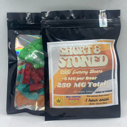 250 mg CBD  Bears
