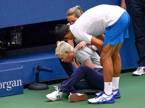 Novak just got defaulted