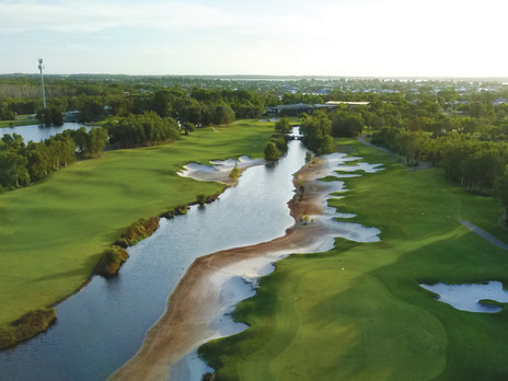 Pacific Harbour, Bribie Island - Course Review