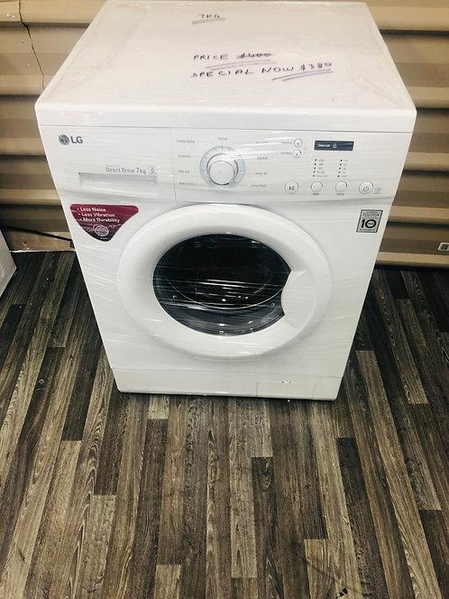 LG 7Kg DirectDrive Front Loader Washing Machine