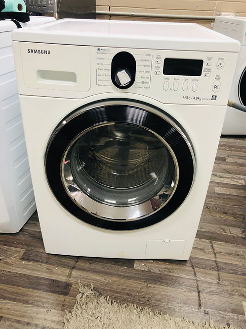 Samsung 7.5Kg/4Kg AirWash Washer Dryer Combo Washing Machine