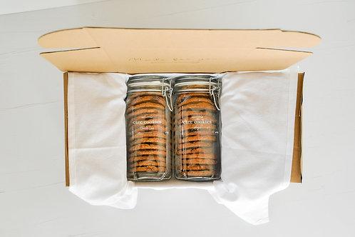 Deluxe Care Cookies Package   Duo Jar Box