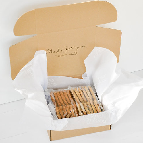 Cookie Lover's Package | Two Dozen Cookies (No Gift Wrapping)