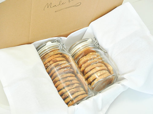 Deluxe Care Cookies Package   Mixed Jar Box
