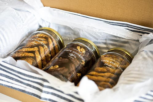 Deluxe Care Cookies Package | Trio Box
