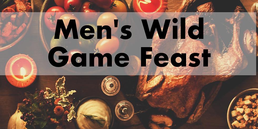 Men's Wild Game Feast