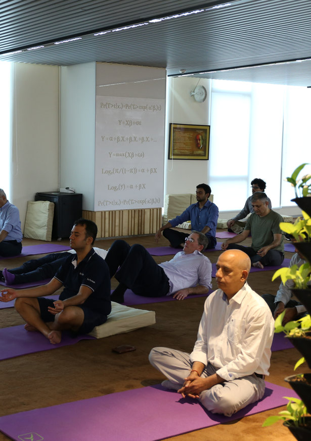Corporate Meditation Sessions