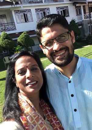 My Guru, friend and inspiration Nithya Shanti