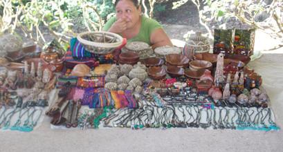 Local Souvenir Market Altun Ha Temple