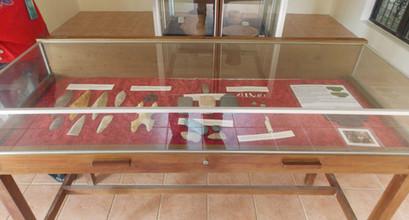 Maya Artifacts at visitors center