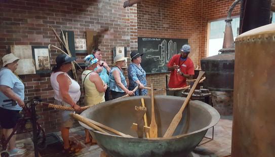 Rum factory Tour