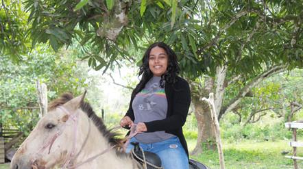 Horseback riding Belize Village life