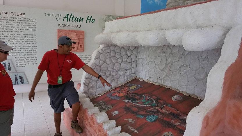 Belize Altun Ha Tour with Tour Guide