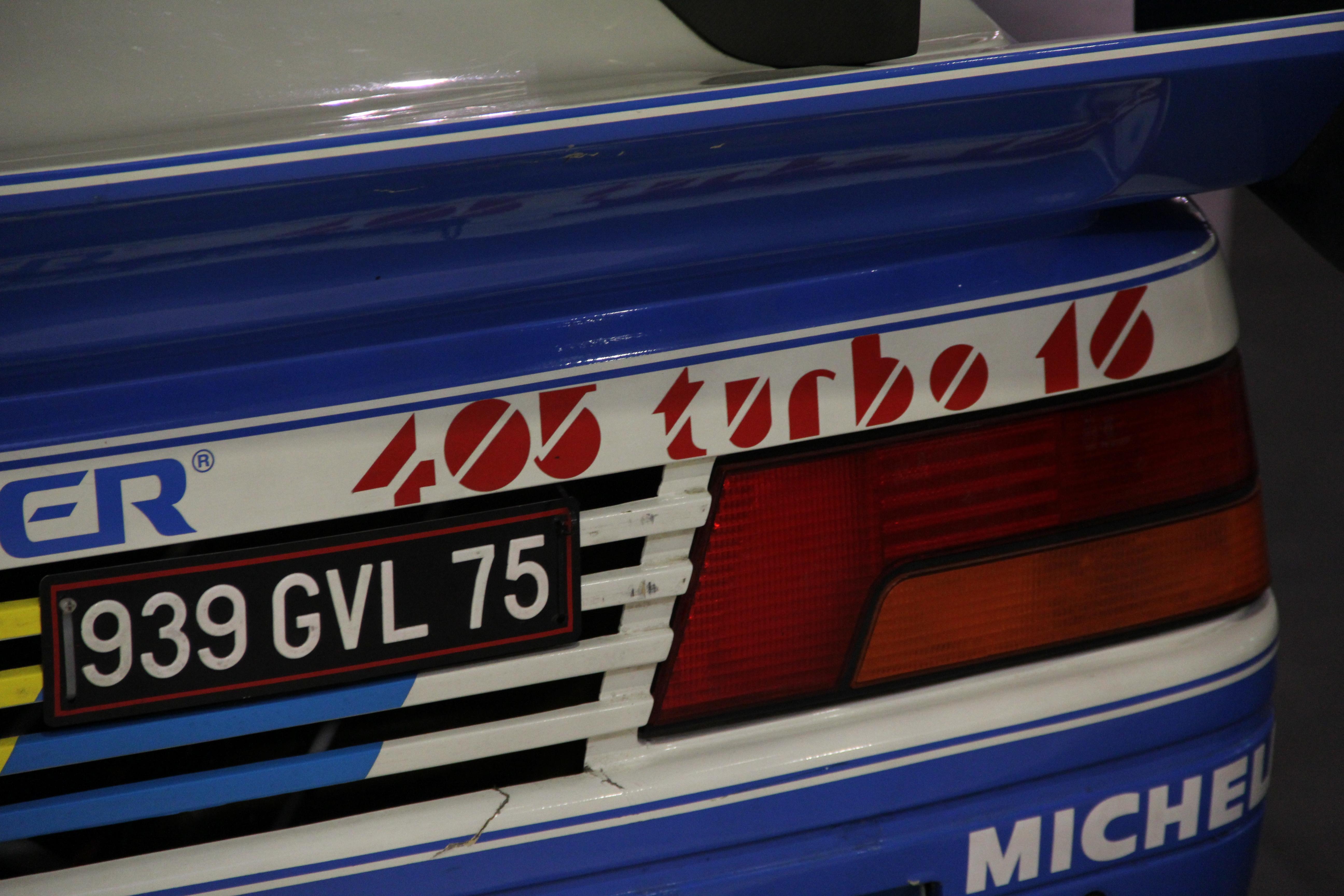 405 Turbo 16 Pike Peak
